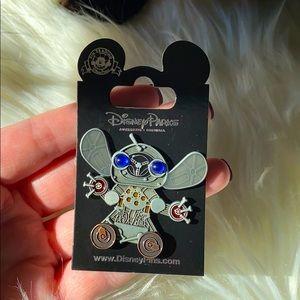 Steam punk Stitch pin